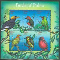 Palau - 2001 Birds Kleinbogen (1) MNH__(THB-2478) - Palau