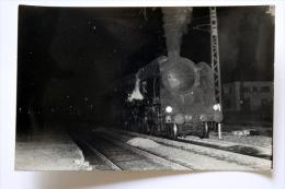 Photo Loco Ligne Paris-Clermont-Ferrand  Col Schnabel 1956 - Materiaal