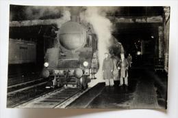Photos Loco Ligne Paris-Clemont-Ferrand  Col Schnabel 8/1956 - Treinen