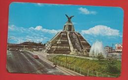 Z0464 Mexico Monumento A La Raza En La Ciudad De México. Precolumbian Mexicans. Stamp But Not Used - Mexiko