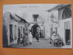CPA Tunis (Tunisie) - Rue De L'Hiver - Tunisia