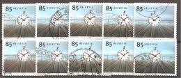 SCHWEIZ - MI.NR. 1862 O (10x) - Switzerland