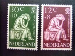 NEDERLAND -  AÑO DEL REFUGIADO 1960 - WORLD REFUGEE YEAR   -- Yvert & Tellier Nº 717 / 718 ** MNH - Refugiados