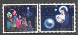 Christmas: Yvert N°132/3**; MNH; Luxe; Noël - Christmas Island