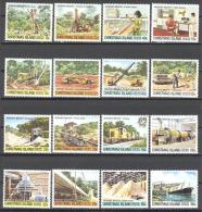 Christmas: Yvert N°136/51**; MNH; Luxe; Serie Courante; Industrie Du Phosphate - Christmas Island