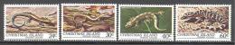 Christmas: Yvert N°152/5**; MNH; Luxe; Reptile - Christmas Island