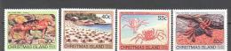 Christmas: Yvert N°185/8**; MNH; Luxe; Crabe De Terrre - Christmas Island