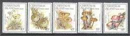 Christmas: Yvert N°188/93**; MNH; Luxe; Champignons - Christmas Island