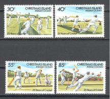 Christmas: Yvert N°194/7**; MNH; Luxe; Cricket - Christmas Island