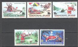 Christmas: Yvert N°225/9**; MNH; Luxe; Noël - Christmas Island