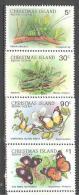 Christmas: Yvert N°249/52**; MNH; Luxe; Insectes - Christmas Island