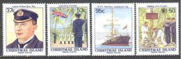 Christmas: Yvert N°269/72**; MNH; Luxe - Christmas Island