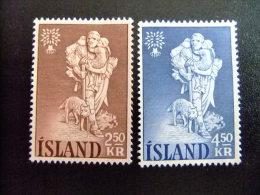 ISLAND -  AÑO DEL REFUGIADO 1960 - WORLD REFUGEE YEAR   -- Yvert & Tellier Nº 299 / 300 (*) - Refugiados
