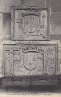 Ph-CPA Blois (Loir Et Cher) Le Château Bas-reliefs Aux Armes De François 1er - Blois