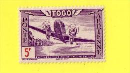 ,, TOGO    **  5 F.   **   PA.,, ( SERRES ) ,,,,,,,, NEUF SANS TRACE DE CHARNIERE - Togo (1960-...)