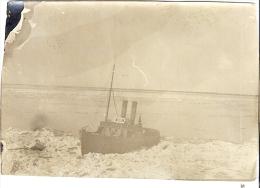 Photo  BATEAU BRISE GLACE        5,7 X8,2 Cm - Schiffe