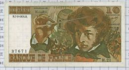 10 Francs Berlioz, Ref Fayette 63-3, état NEUF - 10 F 1972-1978 ''Berlioz''