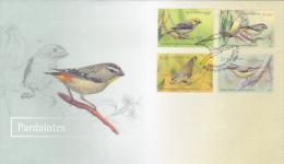 Australia 2013 Pardalotes Birds FDC - FDC
