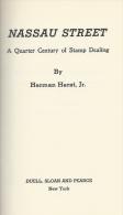 Nassau Street, By Herman Herst Jr., First Edition, Hardcover - Handbooks