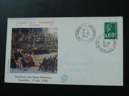 Lettre Oblitération Congrès Du Parlement 1974 Versailles - Frankrijk