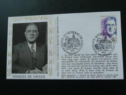 Lettre FDC General De Gaulle Roubaix - De Gaulle (Generale)
