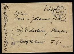 A2132) DR Feldpost Brief Von FP-Nr.29643 Vom 16.3.1945 Oberschlesien - Briefe U. Dokumente