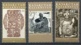 102 KAZAKHSTAN 2002 - Art Gravure - Neuf Sans Charniere (Yvert 327/29) - Kazakhstan