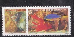 Nouvelle-Calédonie N° 551 - 552** - Nuevos