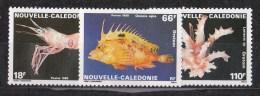 Nouvelle-Calédonie N° 576 à 578** - Nueva Caledonia