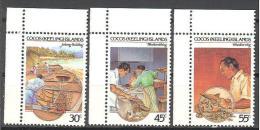 Cocos: Yvert N°125/7**; MNH; Culture - Cocos (Keeling) Islands