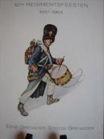 127e REGIMENTSFEESTEN 1837-1964  EENS GRENADIER STEEDS GRENADIER - Histoire
