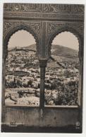 CPSM GRANADA, ALHAMBRA, MIRADOR, Format 9 Cm Sur 14 Cm Environ, ANDALUCIA, ANDALOUSIE, ESPAGNE - Granada