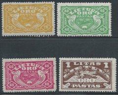 LITUANIE - Poste Aérienne Neuve - Série Complète De 1924 - Lituanie