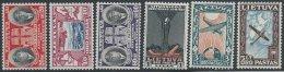 LITUANIE - Poste Aérienne Neuve - Série Complète De 1934 - Lituanie