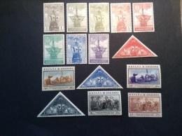 Espagne 1930 Serie CHRISTOPHE COLOMB ** SUPERBE. Edifil 531-545 = 220€ (Colon. Christopher Columbus, Christoph Kolumbus)