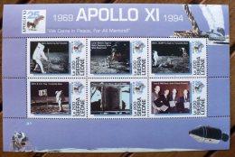 SIERRA LEONE Cosmos. 25 Ans Apollo 11( N° Michel 2164-69 ) Neuf Sans Charniere ** MNH - Space