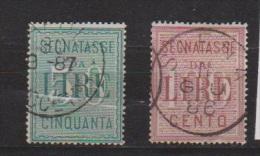 ITALIE  //  COLIS POSTAUX  //  N 20-21  //  COTE 60€ - Postal Parcels