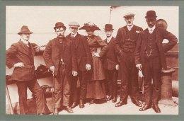 Postcard Australia Emigrants Aboard The Monrovian TILBURY 1912 Nostalgia Repro - Events