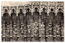CP, 32, AUCH, Cathédrale Ste-Marie, Un Côté Des Stalles Du Choeur (bois Sculpté 1520-1522)Vierge - Auch
