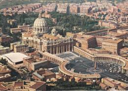 Italia--Citta Del Vaticano--1982---Piazza E Basilica Di S.Pietro-----a, Bassompierre, Francia - Vaticano (Ciudad Del)