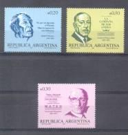 PERSONALIDADES ARGENTINAS AÑO 1987 CUARTA SERIE JORGE LUIS BORGES ARMANDO DISCEPOLO TANGO CARLOS A. PUEYRREDON SERIE COM