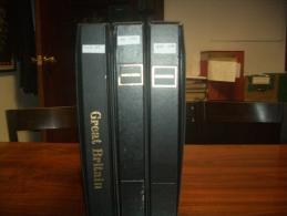 Gran Bretaña. Colección De Sellos Nuevos En 3 Tomos De Los Años 1952-2001 - Sin Clasificación