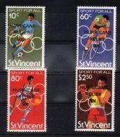 St.Vincent - 1980 World Cup Overprint MNH__(TH-4345) - St.Vincent (1979-...)