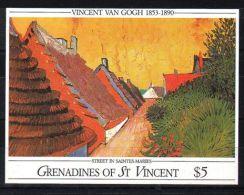St.Vincent Grenadines - 1991 Vincent Van Gogh Block (1) MNH__(TH-3718) - St.-Vincent En De Grenadines