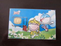 China GSM SIM Card,original Fixed Chip,Cartoon - China