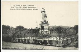 MARTINIQUE , FORT DE FRANCE , Statue De L' Impératrice Joséphine Sur La Savane - Fort De France