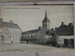 Belle Carte Postale Ancienne Soudan Loire Atlantique 44 Vue Prise De La Route De Rougé - Sonstige Gemeinden
