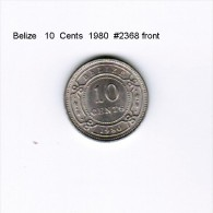 BELIZE   10  CENTS  1980  (KM # 35) - Belize