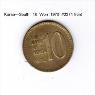 KOREA---South   10  WON  1970  (KM # 6) - Korea, South