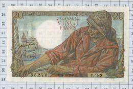 20 Francs Pecheur, Ref Fayette 13-13, état NEUF - 1871-1952 Anciens Francs Circulés Au XXème